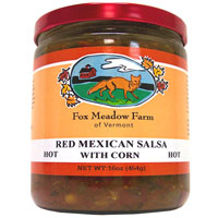 Red Tomato Corn Salsa HOT